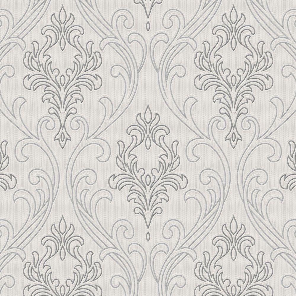 Graham & Brown Gray Royale Wallpaper