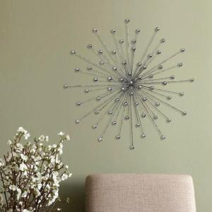 Stratton Home Decor Stratton Home Decor Silver Burst Wall Decor by Stratton Home Decor