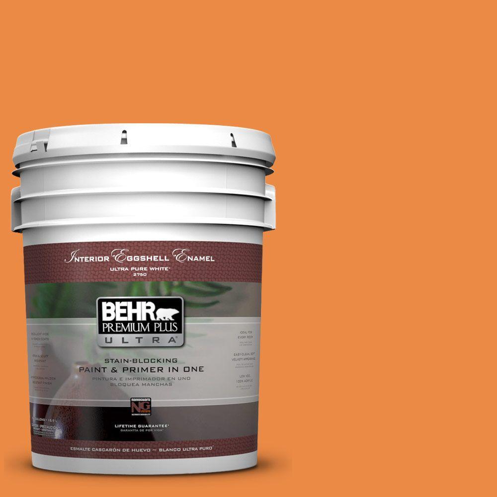 BEHR Premium Plus Ultra 5-gal. #P230-7 Acapulco Sun Eggshell Enamel Interior Paint