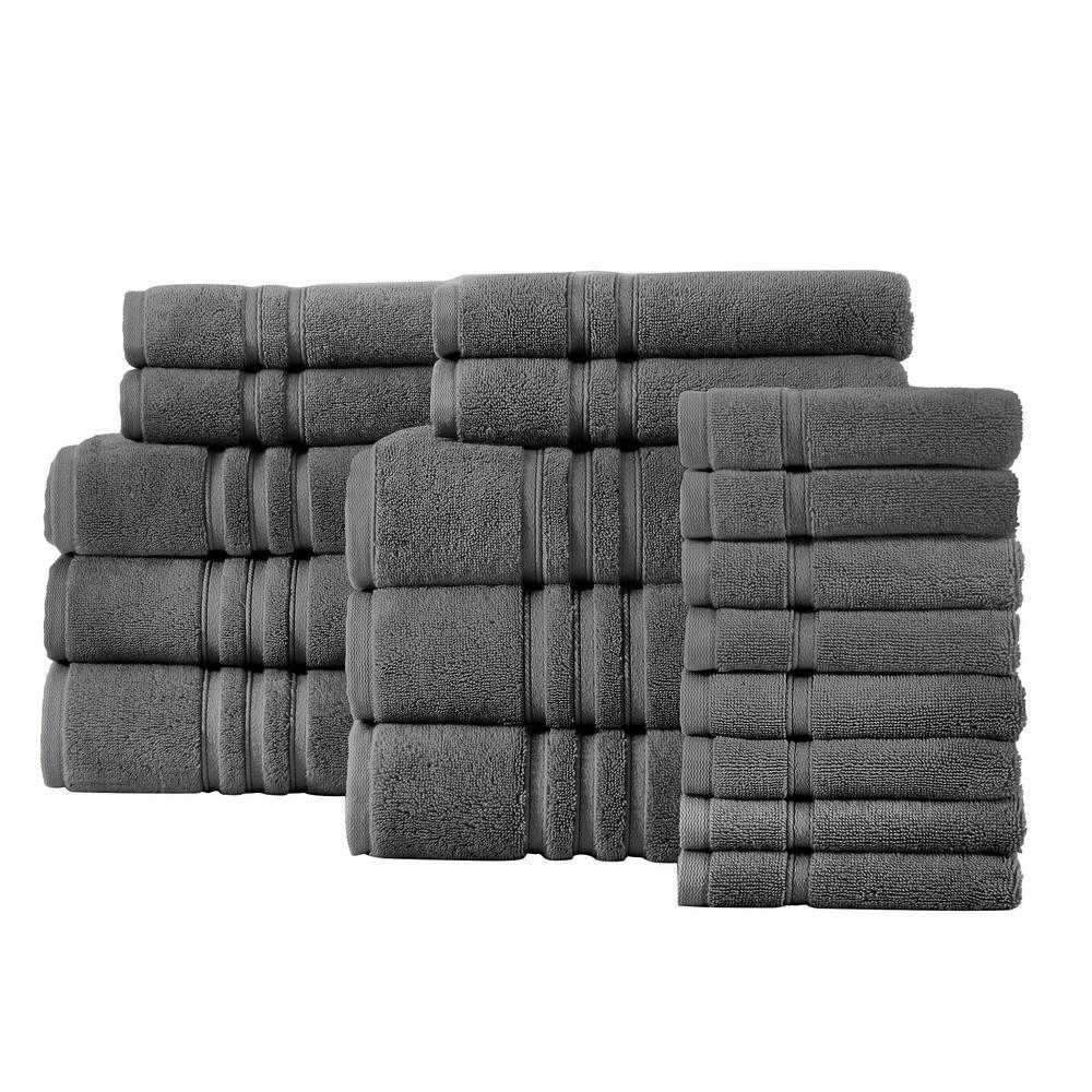 Home Decorators Collection 18-Piece Turkish Cotton Ultra Soft Towel Set