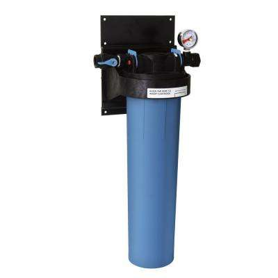 single canister whole house three stage advanced carbon technology water filtration system