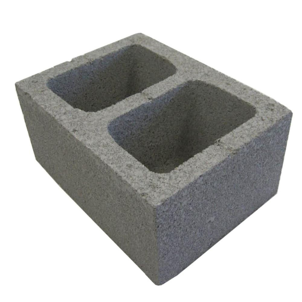 In concrete header block the