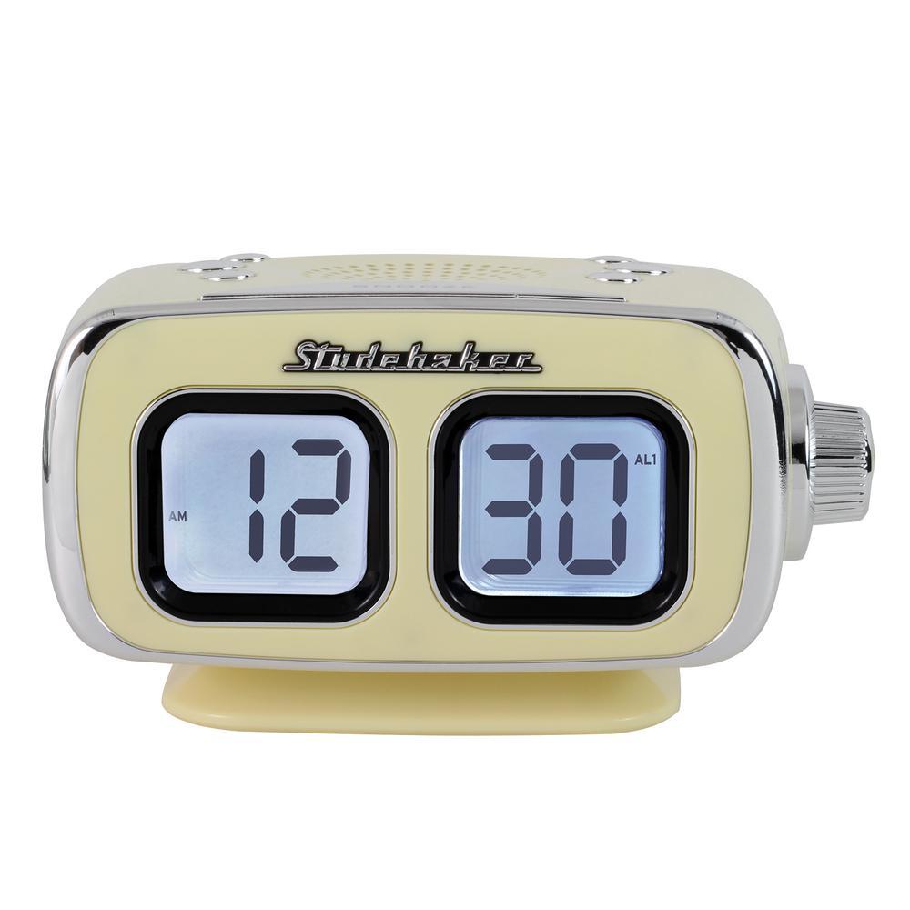 Bluetooth AM/FM Clock Radio