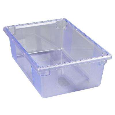 Color-Coded 12.5 gal., 18x26x9 in. Polycarbonate Food Storage Box in Blue (Case of 4)
