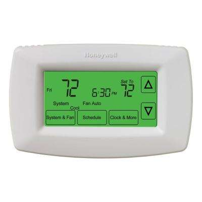 Battery Operated Programmable Thermostats Thermostats