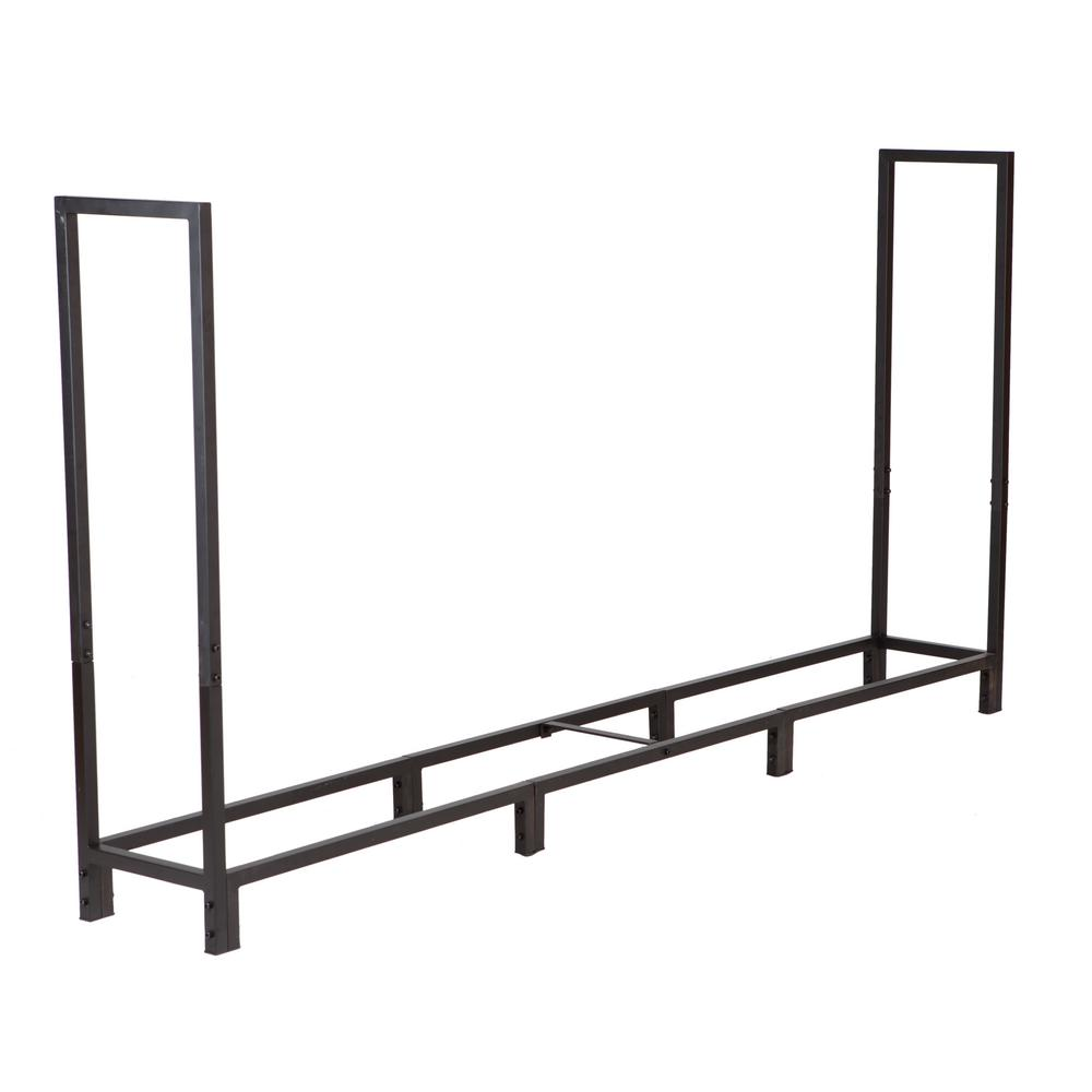 LANDMANN 8 ft. Firewood Rack-82433 - The Home Depot