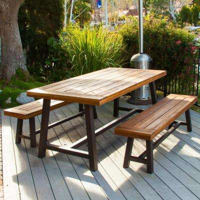 Rustic Patio Furniture Outdoors The Home Depot