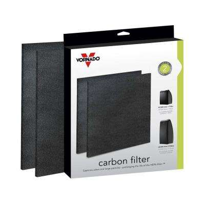 Air Purifier Replacement Carbon Filters (2-Pack)