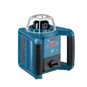 Click here to buy Bosch 1000 ft. Horizontal and Vertical Self-Leveling Rotary Laser Level (6-Piece) by Bosch.