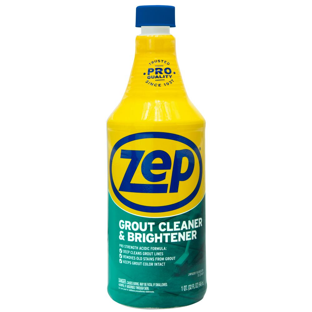 Incredible Zep 32 Fl Oz Grout Cleaner And Whitener Interior Design Ideas Philsoteloinfo