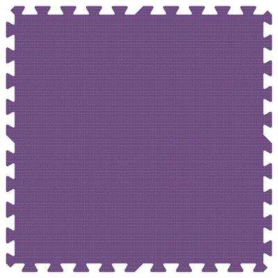 Purple 24 in. x 24 in. Comfortable Mat (100 sq.ft. / Case)