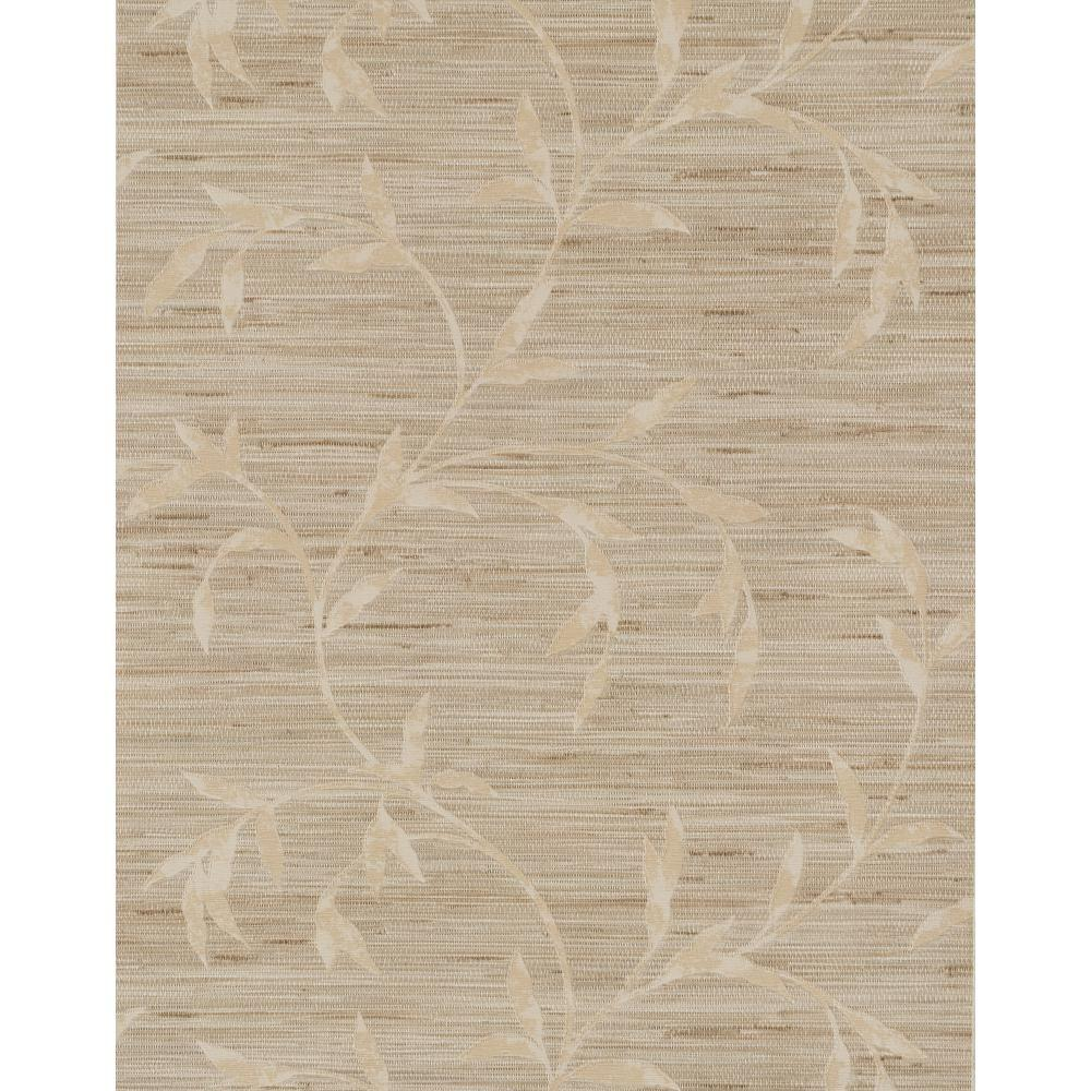 York Wallcoverings Weathered Finishes Vine Scroll Wallpaper