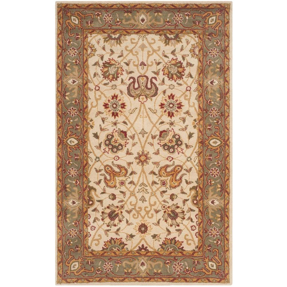 Antiquity Ivory 5 ft. x 8 ft. Area Rug