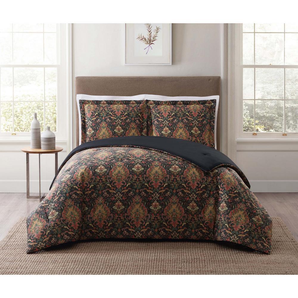 Cambridge Black King Comforter Set