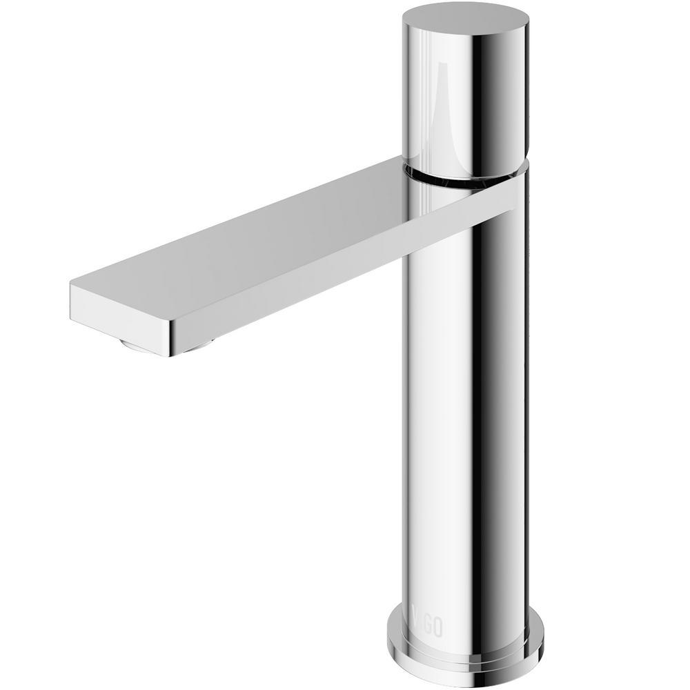Halsey Single Hole Single-Handle Bathroom Faucet in Chrome