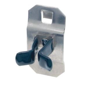 Small 3 LB. Vinyl Dipped Stainless Steel Extended Spring Clip for SS LocBoard, 3 Pack