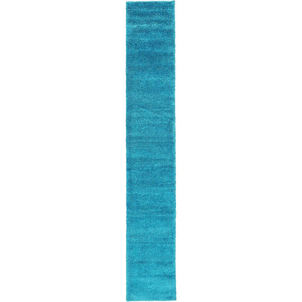 Solo Calabasas Turquoise 2' 2 x 13' 0 Runner Rug