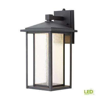 outdoor light fixtures mission style black medium outdoor seeded glass dusk to dawn wall lantern mounted lighting the home depot