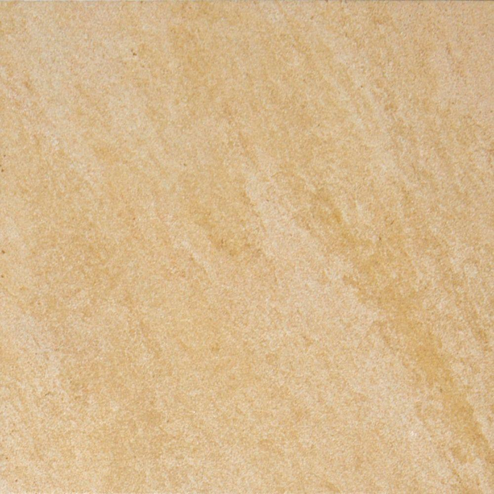 MS International Valencia Beige 12 in. x 12 in. Glazed Porcelain Floor and Wall Tile (13 sq. ft. / case)-DISCONTINUED