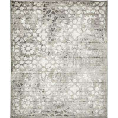 Sofia Larvotto Dark Gray 8' 0 x 10' 0 Area Rug