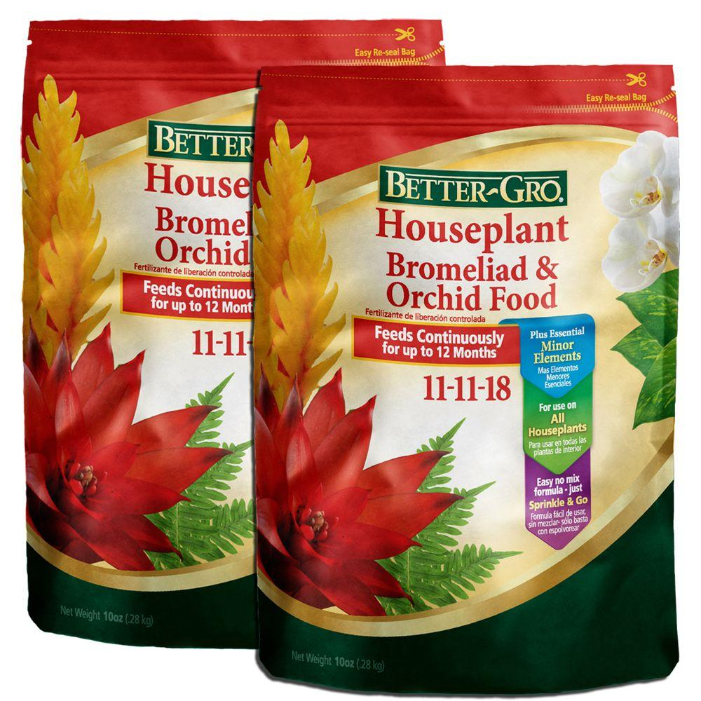 10 oz. Houseplant, Bromeliad and Orchid Food (2-Pack)