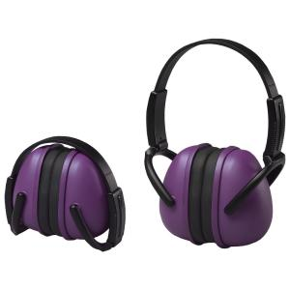239 Foldable Ear Muff NRR 23 dB in Purple