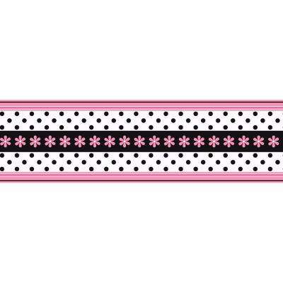 Candice Olson Kids Daisy Ribbon Wallpaper Border