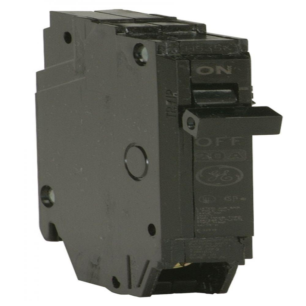 GE Q-Line 40 Amp 1/2 in. Single Pole Circuit Breaker