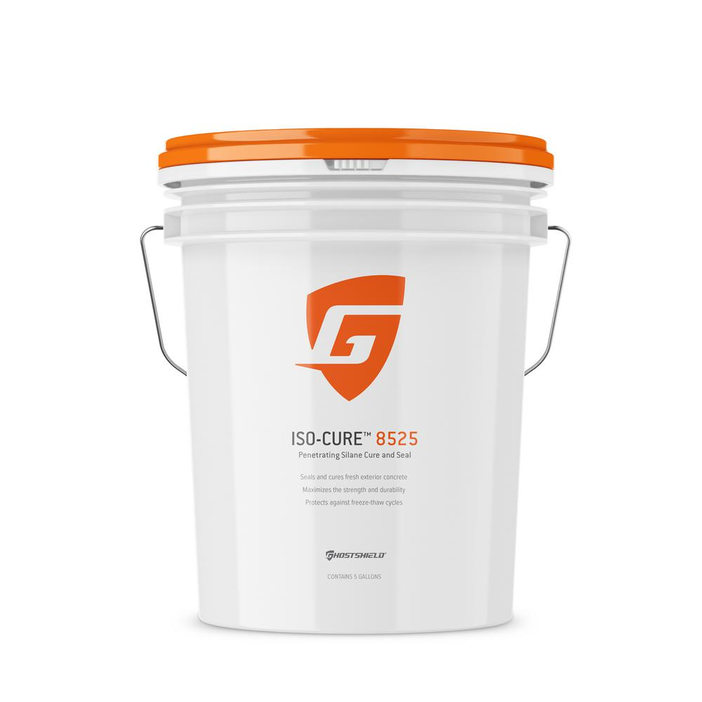 5 gal. silane concrete cure & seal plus water and salt