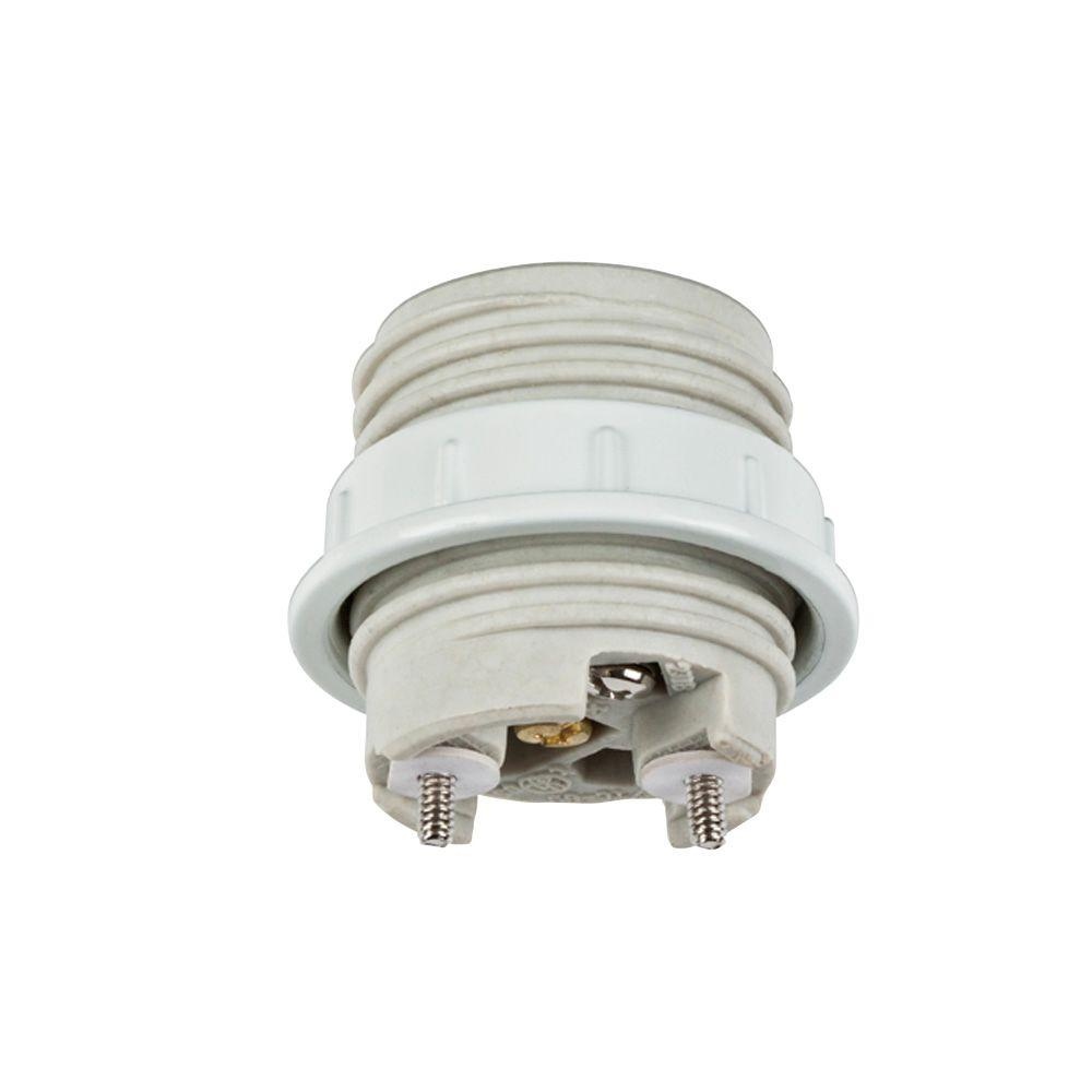 Commercial Electric 1-1/2 in. Porcelain Socket with Ring