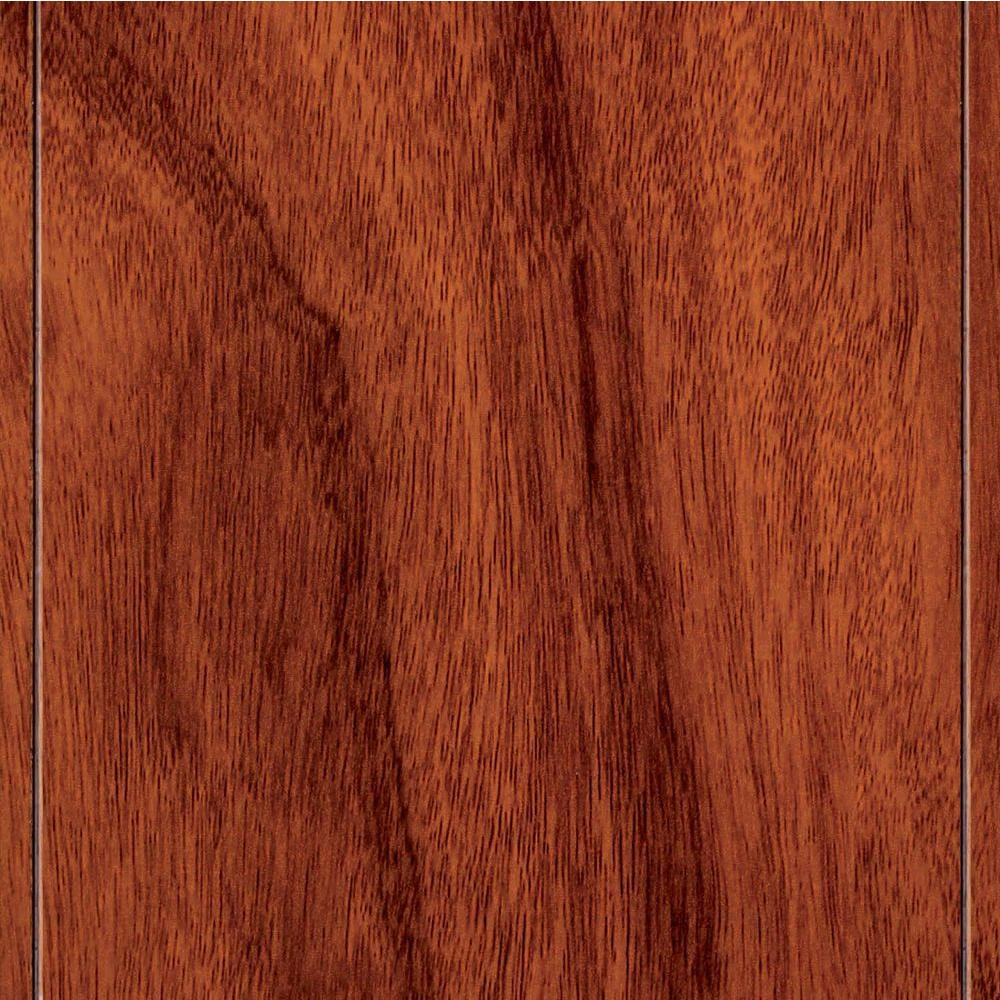 Home Legend Santos Mahogany 8 mm Thick x 5 in. Wide x 47-3/4 in. Length Laminate Flooring (13.26 sq. ft. / case)