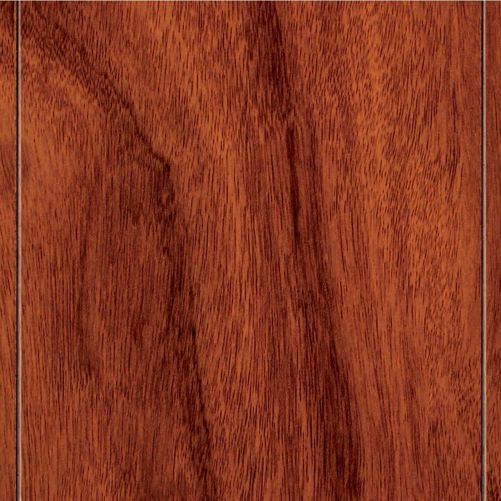 Home Legend Santos Mahogany Laminate Flooring - 5 in. x 7 in. Take Home Sample