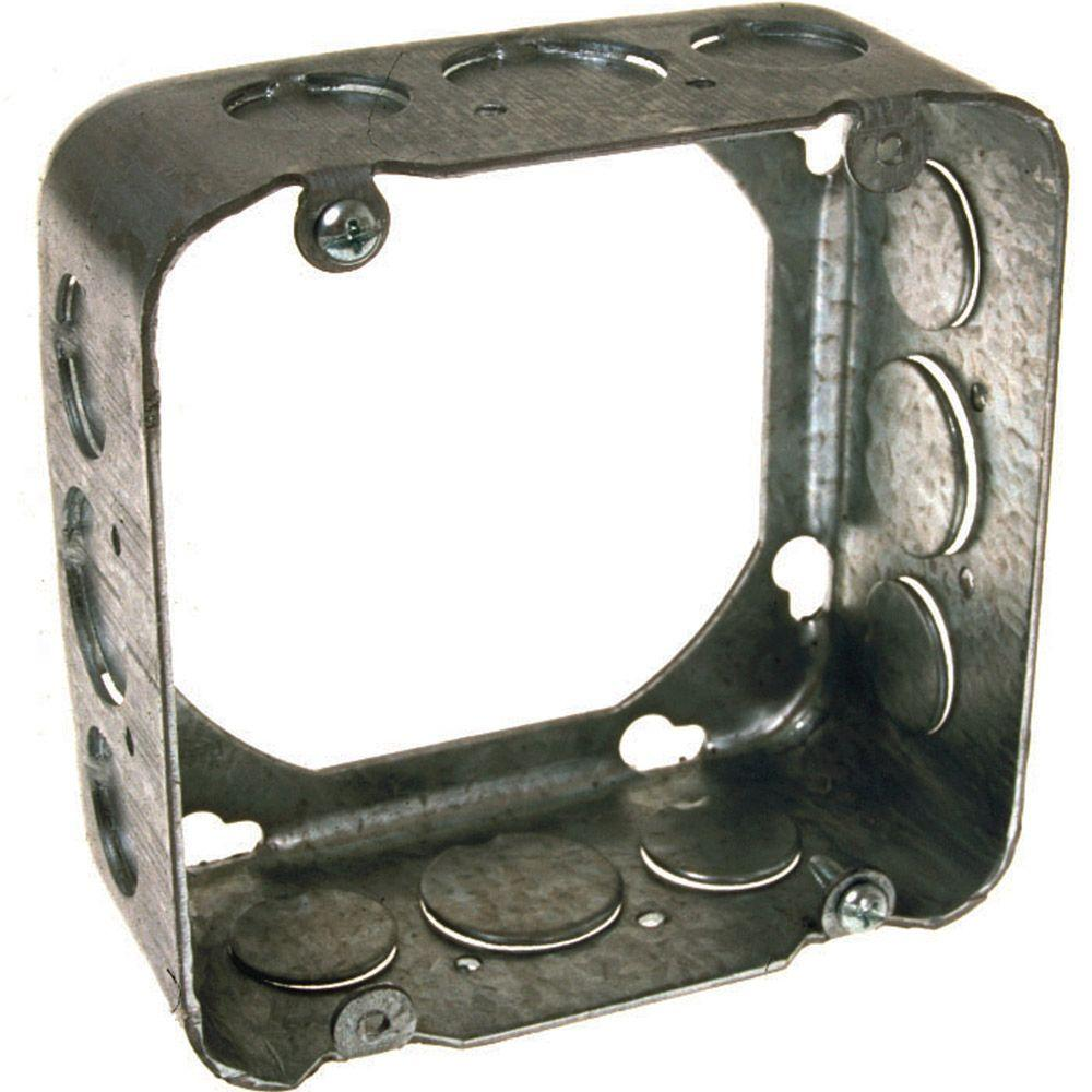 4-11/16 in. Square Drawn Extension Ring, 2-1/8 in. Deep with 1/2