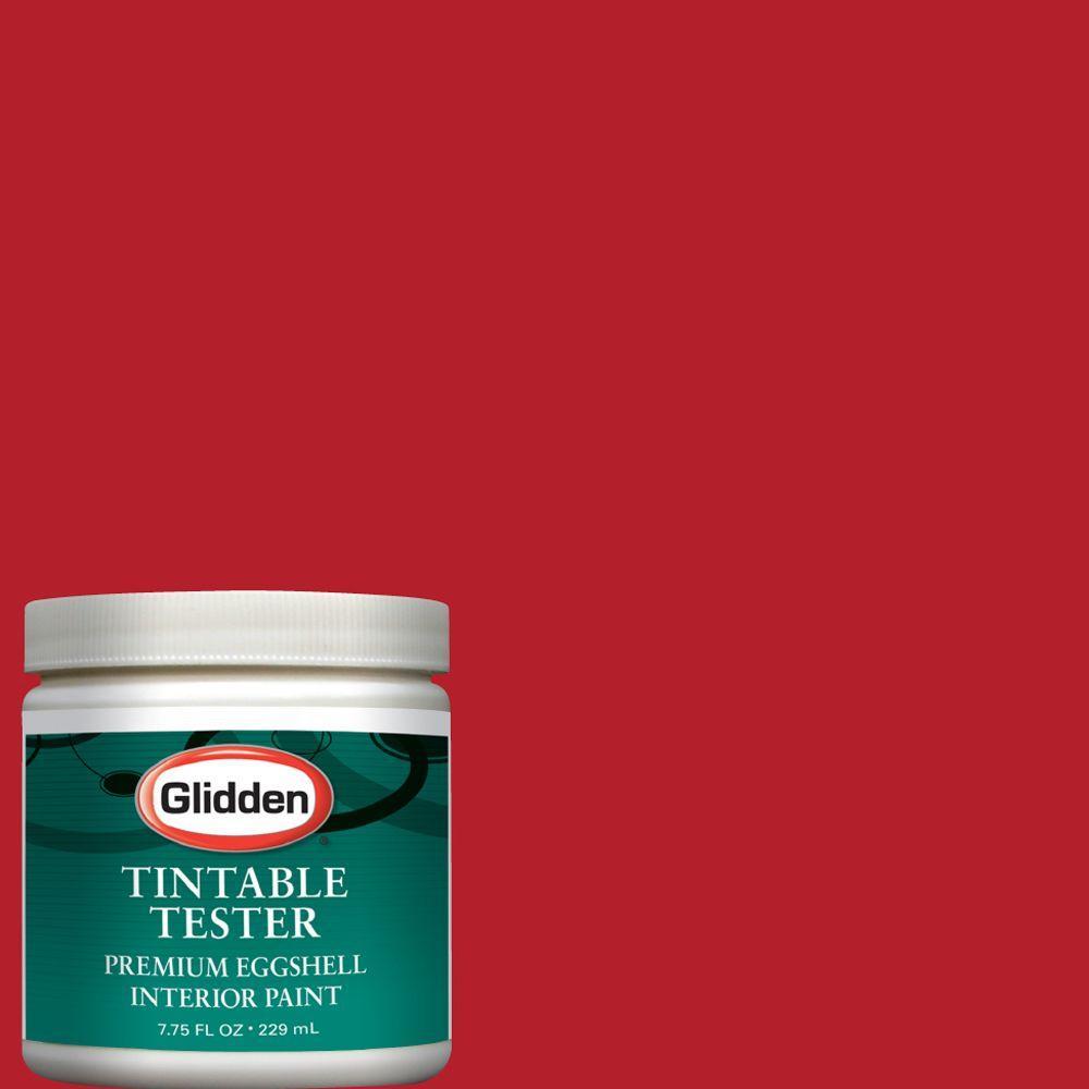 Glidden Premium 8-oz. Candy Apple Interior Paint Tester