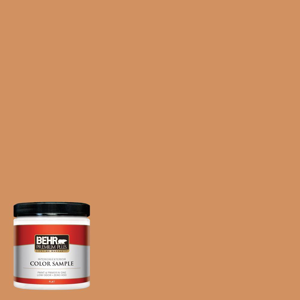 8 oz. #BIC-15 Golden Poppy Interior/Exterior Paint Sample