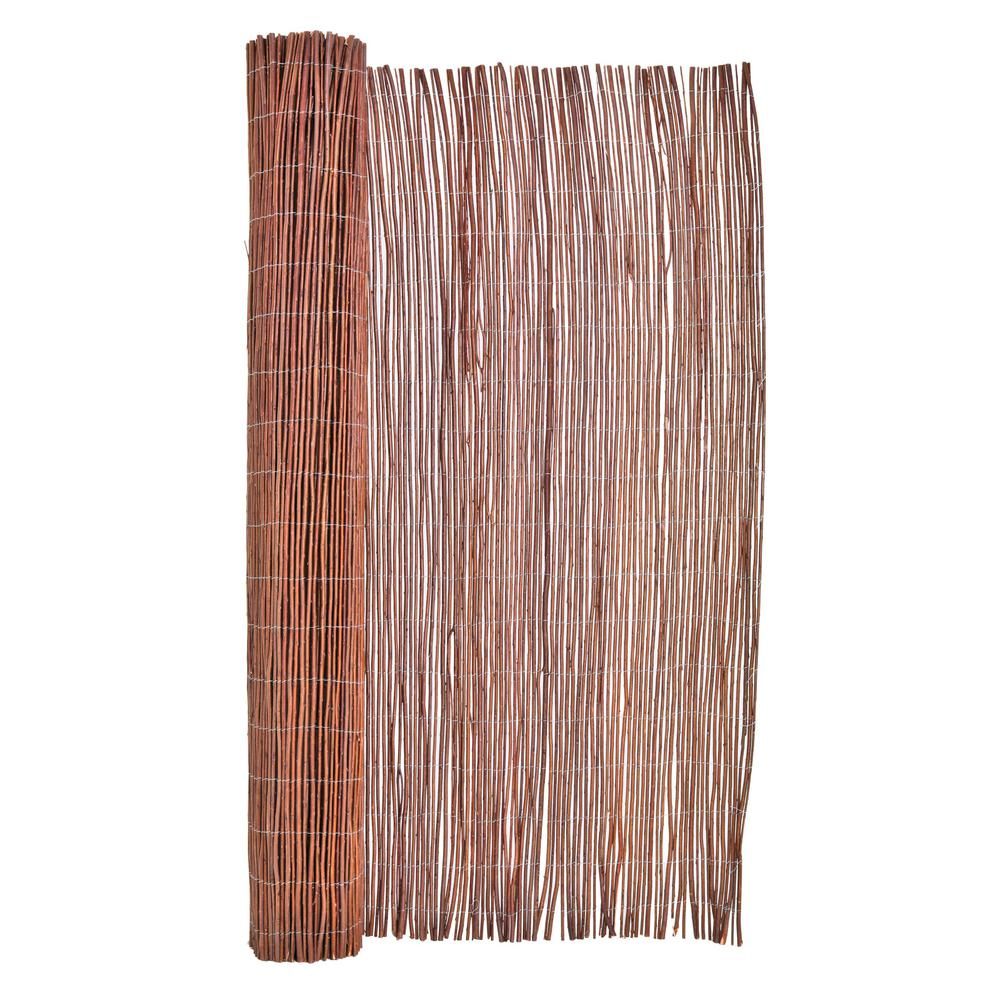 Backyard X-Scapes 6 ft. H x 8 ft. L Willow Wood Fencing