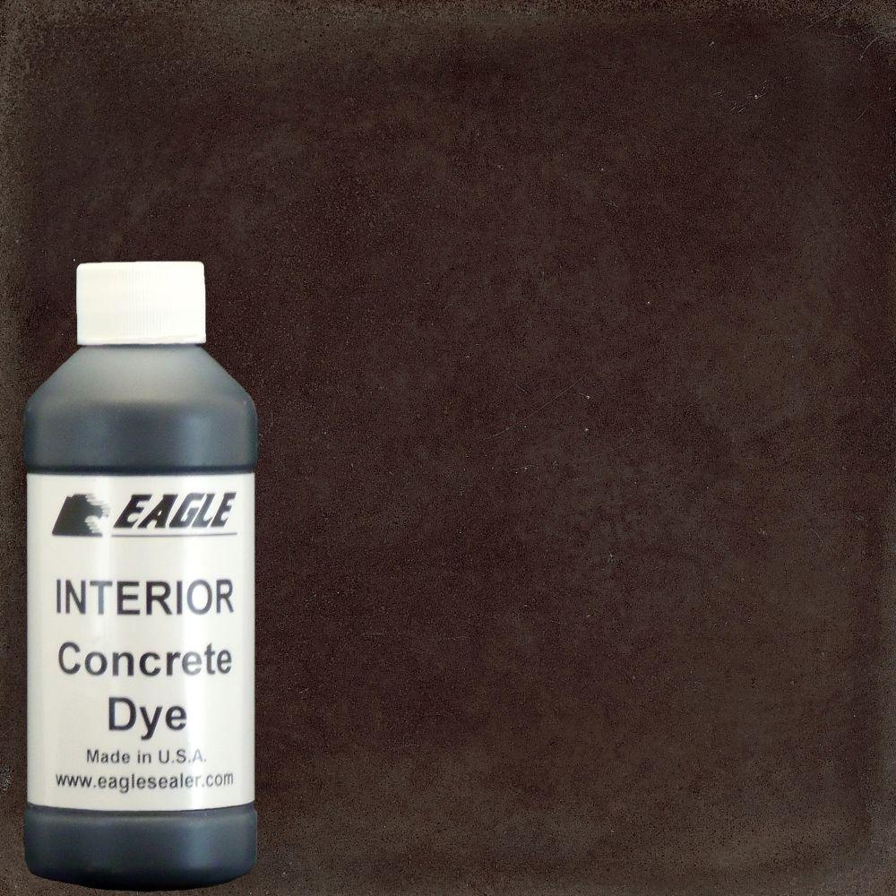 Eagle 1 gal. Root Beer Interior Concrete Dye Stain Makes with Water from 8 oz. Concentrate