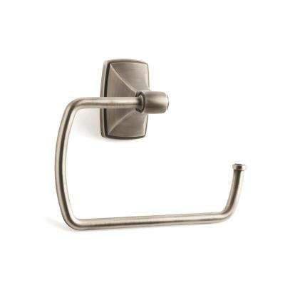 Clarendon Towel Ring in Antique Silver