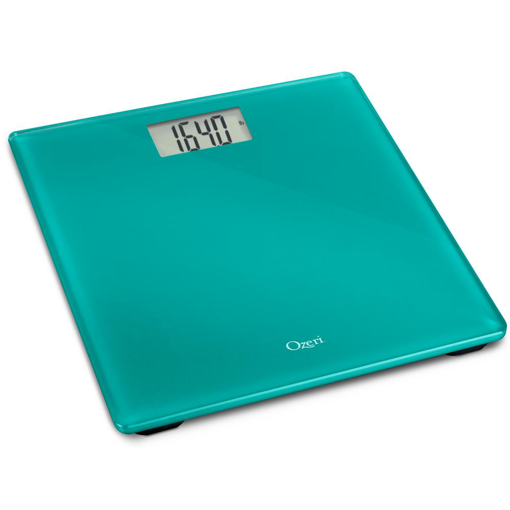 Precision Digital Bath Scale (400 lbs. Edition) in Tempered Glass with