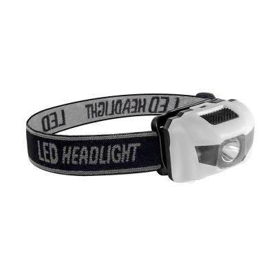 3-Watt Head Light with Adjustable Band in White
