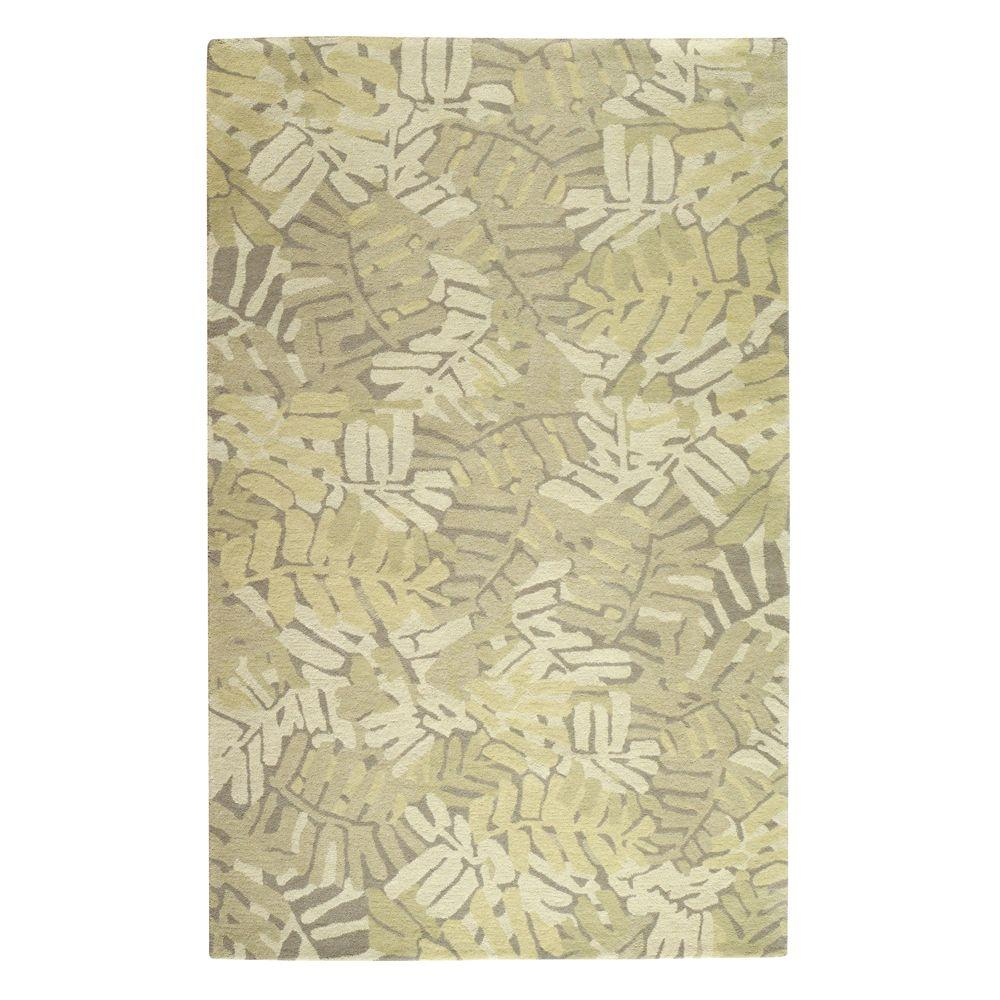 Home Decorators Collection Palm Grove Oolong Tea 8 ft. x 10 ft. Area Rug