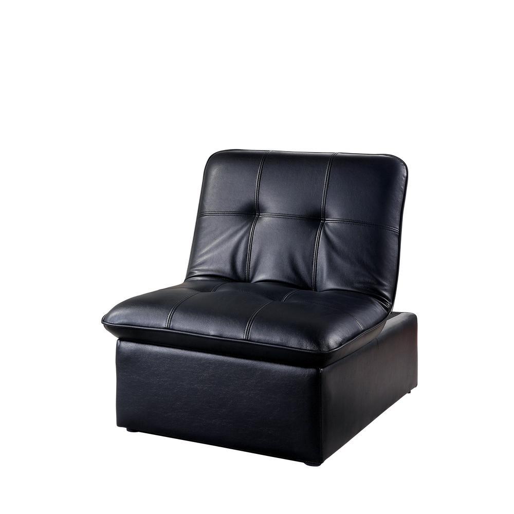 Houdanya Black Futon Chair