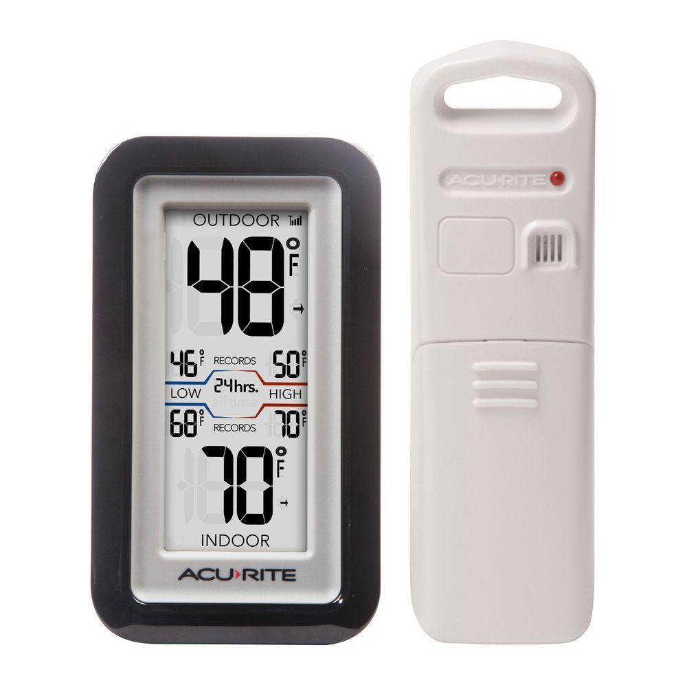 Superbe AcuRite Digital Thermometer With Indoor/Outdoor Temperature