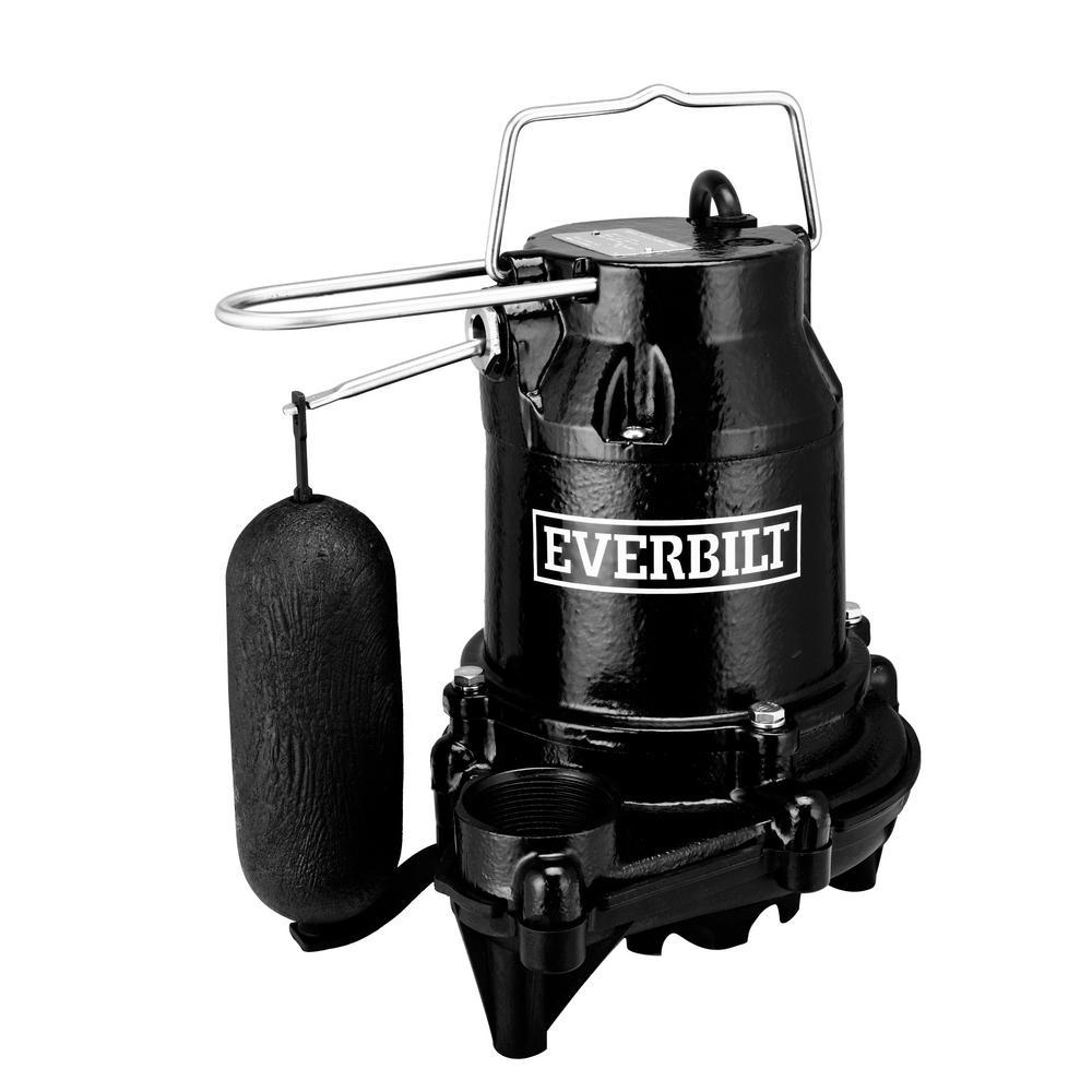 Everbilt 1 HP Professional Sump Pump-PSSP10001VD