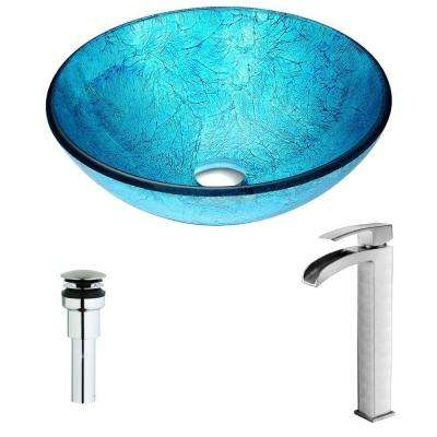 Blue Vessel Sinks Bathroom Sinks The Home Depot