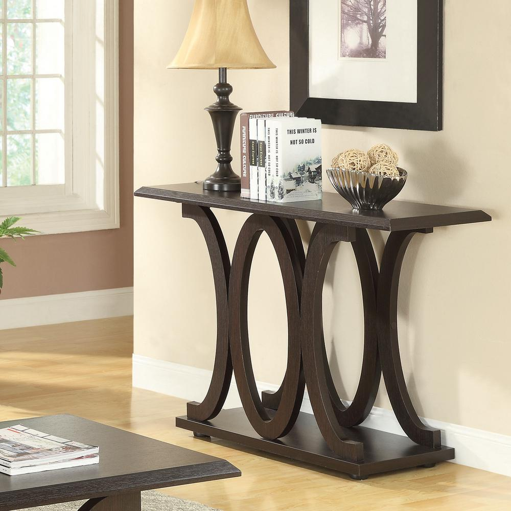 Brilliant C Shaped Sofa Table Cappuccino Alphanode Cool Chair Designs And Ideas Alphanodeonline