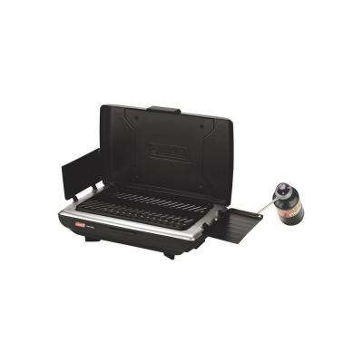 1 Burner Portable Grill Green/Black 2000020930
