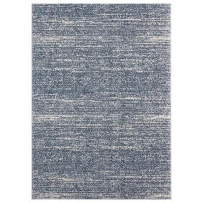 Tranquility Zuelia Blue/Grey 5 ft. 3 in. x 7 ft. 2 in. Area Rug