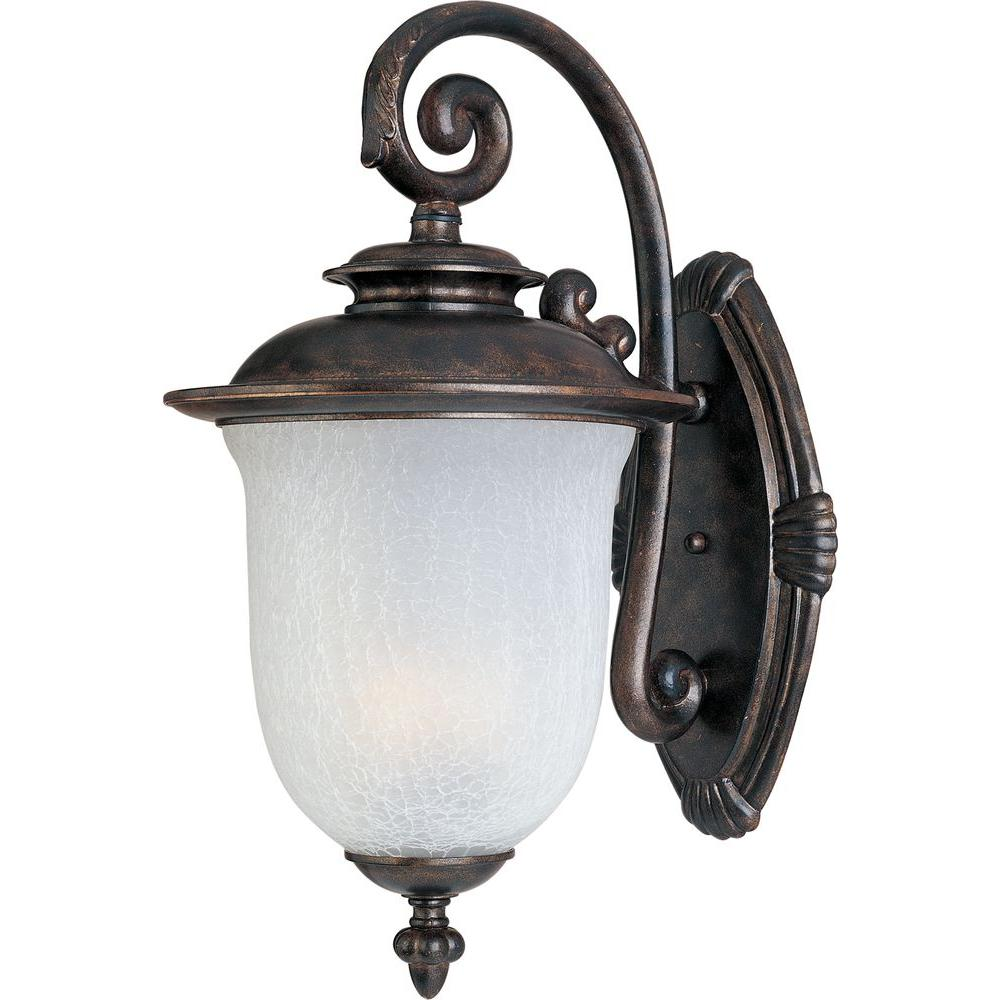 Cambria DC 2-Light Chocolate Outdoor Wall Mount