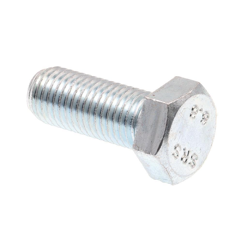 M14-2.00 x 80 MM Bolt Zinc DIN 933 Class 10.9 Hex Cap Screw FT 2